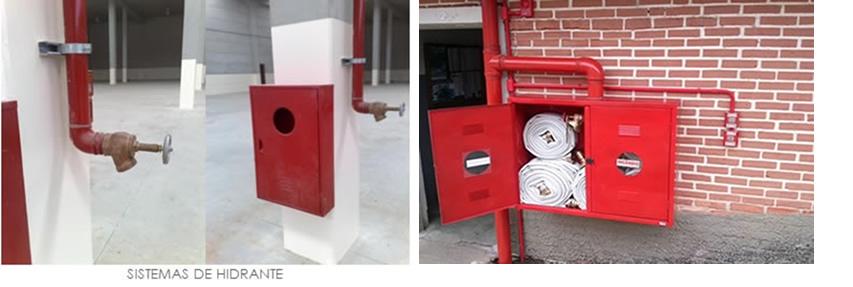 sistemas de hidrante
